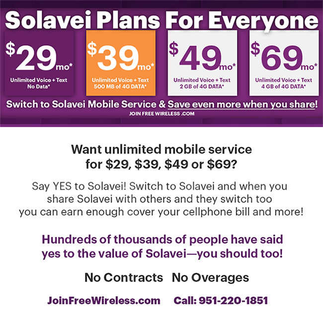 Solavei Plans For Everyone