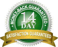 Get 100 percent of your initial payment within 14 days if you're not satisfied.